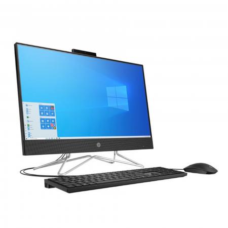 AIO HP 24-DD0020LA RYZEN 5 3500U 4GB SSD512GB 23.8 HDMI 2USB2.0 WIN10 BLACK TECLADO Y MOUSE USB BLACK