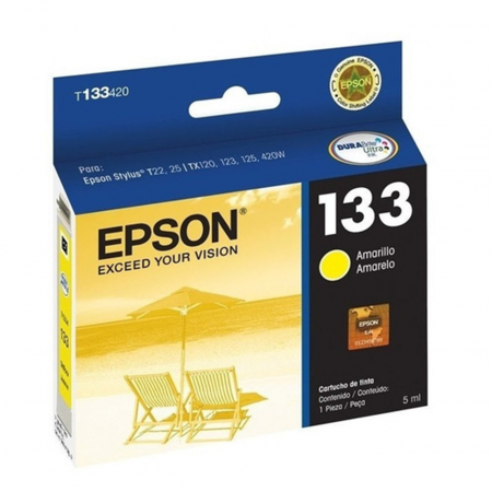 CARTUCHO EPSON T133420 YELLOW T22 25 TX120 123 125 130 133 135 235W 420W 430W TX320F