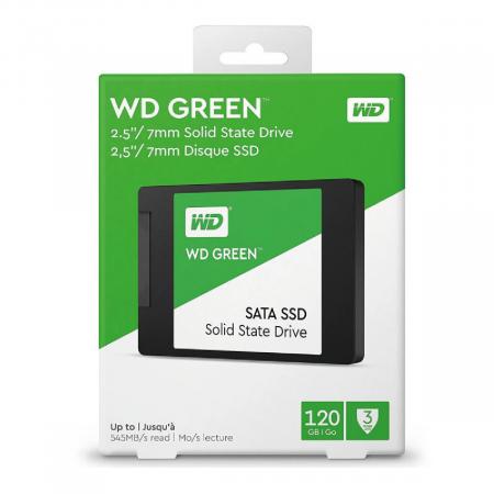 DISCO SOLIDO 120GB SOLIDO WESTER DIGITAL NAND SATA WDS120G2G0A 2.5