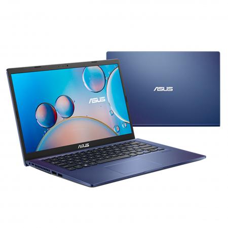 NOTE. ASUS X415JA INTEL CORE I3 1005G1 4GB SSD256GB NO DVD 14 DOS ESPAÑOL PEACOK BLUE 90NB0ST3-M05800 + MOCHILA