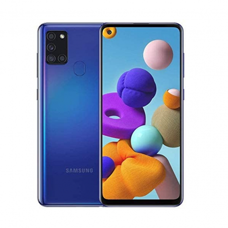 TELEFONO CELULAR SAMSUNG A21 SM-A217MDS OC 4GB 64ROM 4G 4CAM BLUE 1
