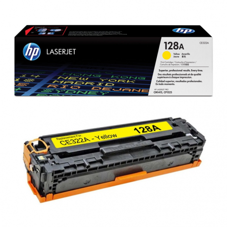 TONER HP CE322A YELLOW (128A)